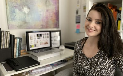 Former Fabric Assistant Becomes Creative Designer